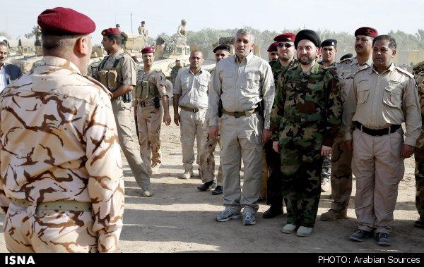 درگیری های ارتش عراق با تروریست های داعش