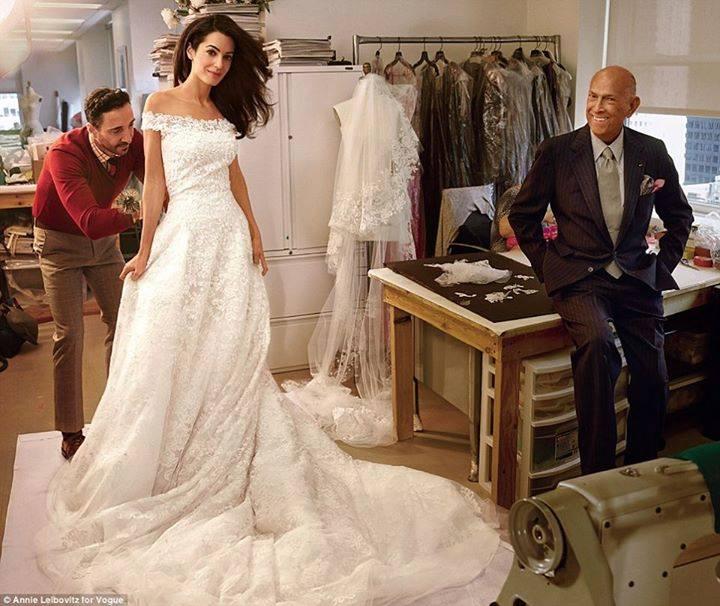 مراسم عروسی جورج کلونی + تصاویر